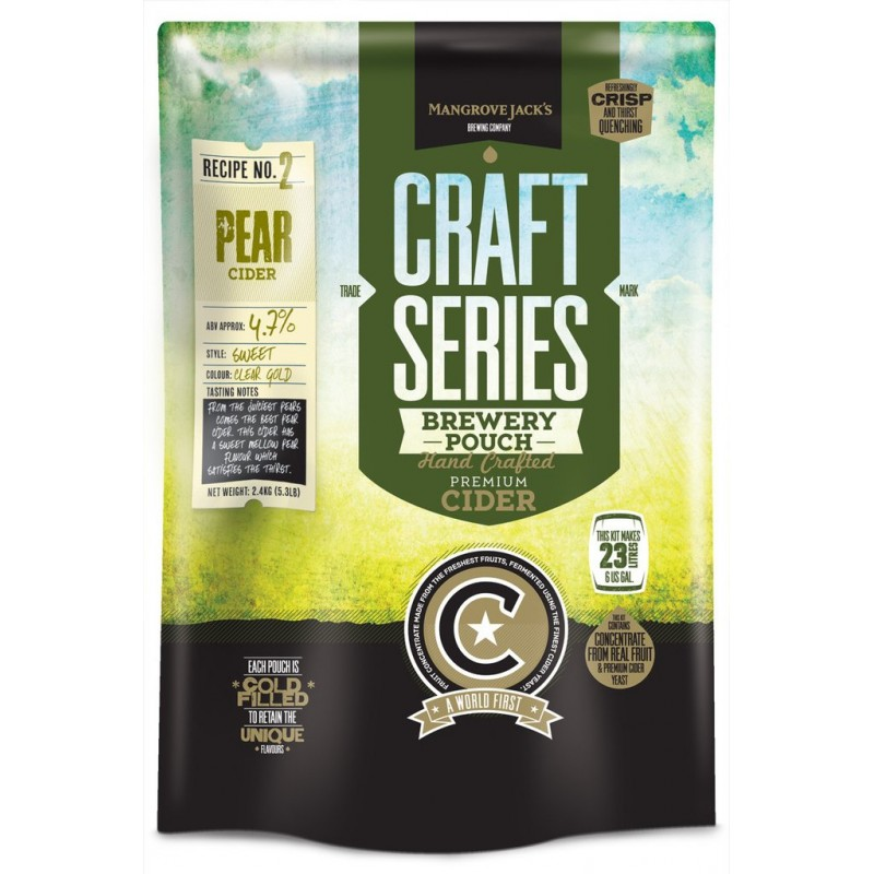 Pear Cider Pouch