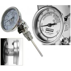 """BrewMometer 1/2"""" adjustable model with hex nut in °C"""