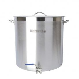 Brewferm homebrew kettle SST 98 l with ball valve (50 x50 cm)