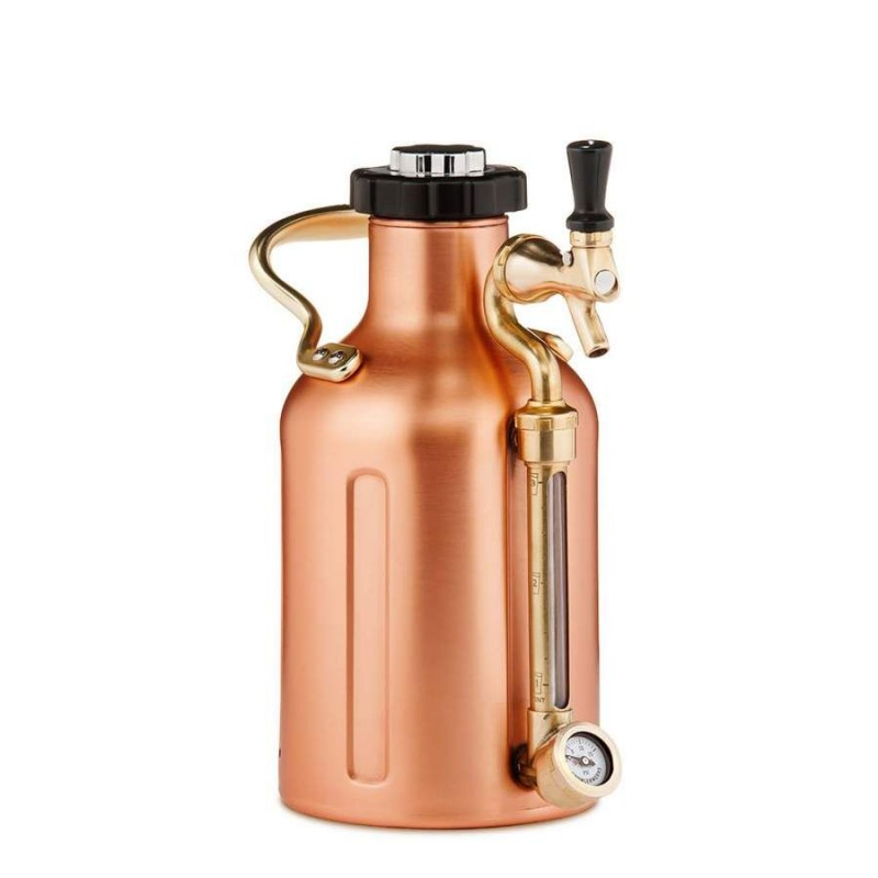 GrowlerWerks uKeg™ 64 copper-plated - 1.9 l