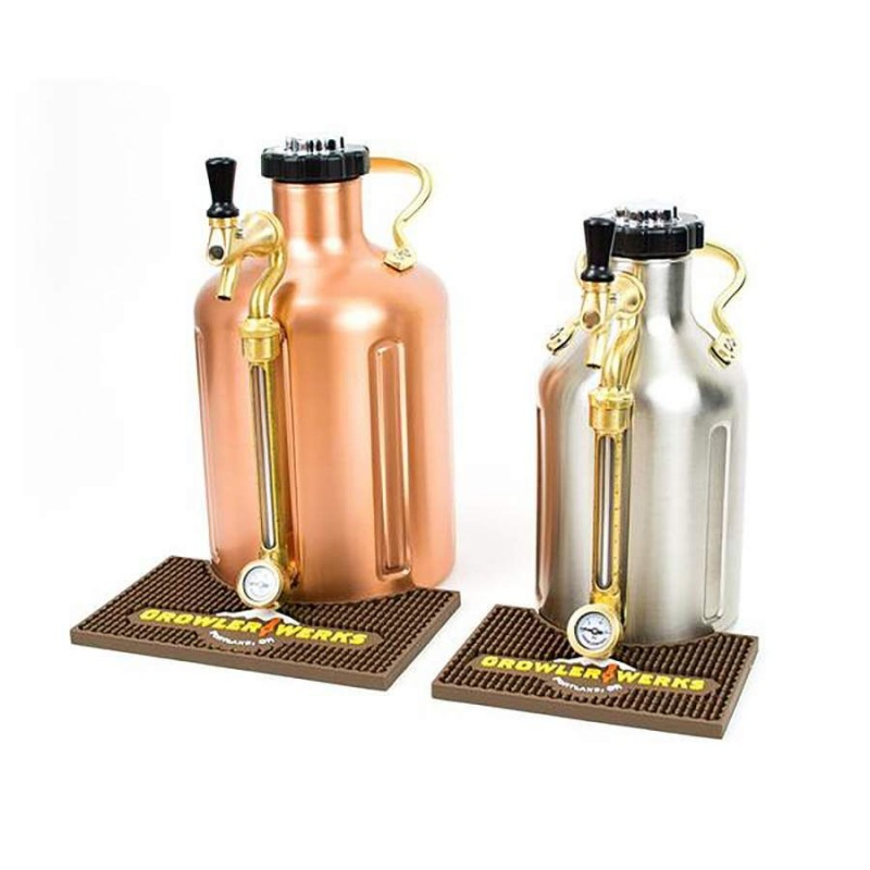 GrowlerWerks uKeg™ 128 bar mat
