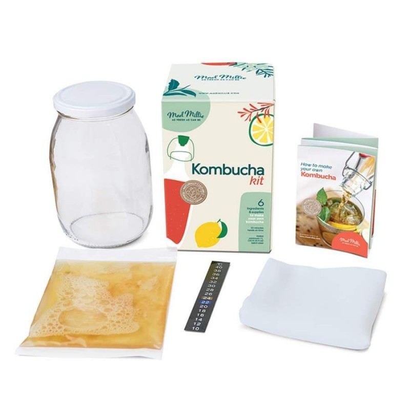 Mad Millie Kombucha starter kit with SCOBY