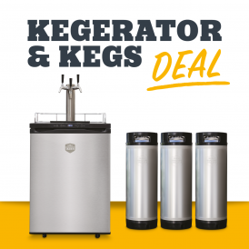 Mangrove Jack's Kegerator - Triple Tap (EU) with 3 x 19L kags included