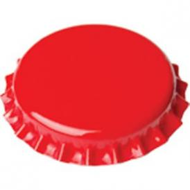 Crown caps 29mm - red