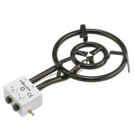 Professionnal gas burner 40cm